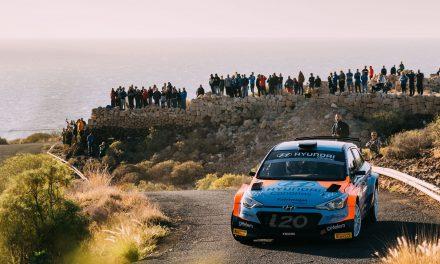 El Rally Isla de Lanzarote, hora de la verdad para🚗💨 Yeray Lemes y Rogelio Peñate en el regional canario