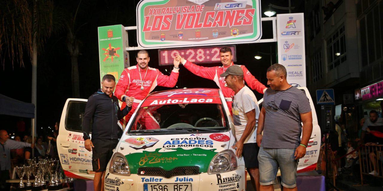 🚗💨Objetivo cumplido en el Isla de los Volcanes para Fran García y Santiago Morales (Auto-Laca, EMG Auto)