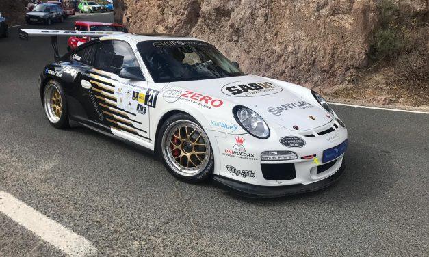 Iván Armas con el Porsche 911 GT3 lució su corona en la 🏁 26º Subida de San Bartolomé