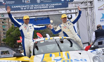 Enrique Cruz y Yeray Mujica 'bordan' el 🏁 Rallye Isla Tenerife y se mantienen líderes.