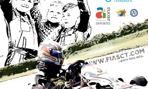 Este fin de semana, última cita con el 🏎 Karting en Tenerife.