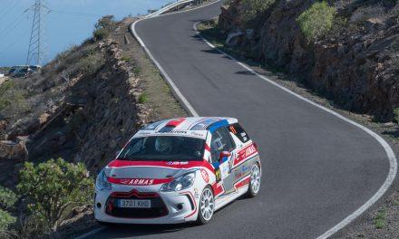 Inmejorable octavo puesto de 🚗💨  Carlos David García y Jordi Díaz en el Rally Isla Tenerife