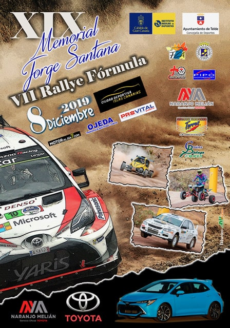 📢 Slalom Memorial Jorge Santana y Rally Fórmula