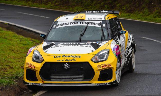 Manuel Mesa estrena copiloto en el 🏁 Rallysprint Santiago del Teide