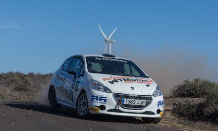 Sergio Fuentes finaliza su temporada en el podio absoluto del 🚗💨Campeonato de Canarias de Rallyes