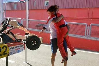 ADONAY CRESPO GUERRA CONSIGUE SU PODIUM 2 DE 2, Karting 👏👏