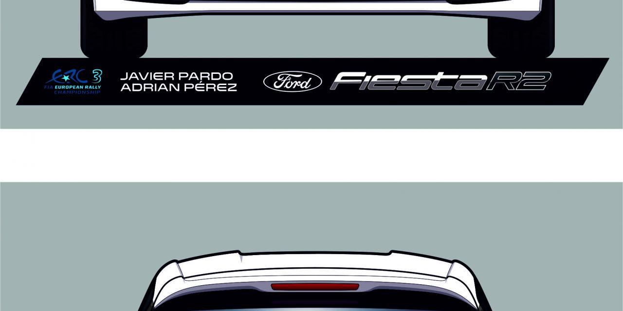 Nuevos retos para Javier Pardo y Adrián Pérez- El Campeonato de Europa de Rallyes (ERC) será su próximo desafío