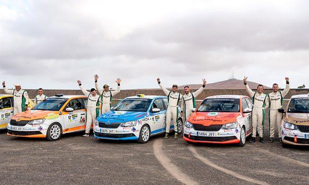 La III Copa Škoda Fabia entrega los trofeos