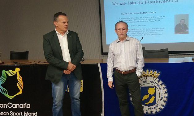 Miguel Angel Domínguez, nuevo presidente de la FALP, tendrá este jueves un encuentro con el automovilismo de Fuerteventura