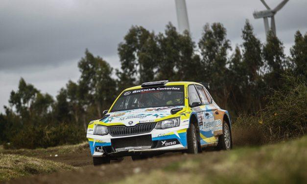 Sosa y Peñate, cerca del 'top ten' en su participación en el Rally Serras de Fafe e Felgueiras