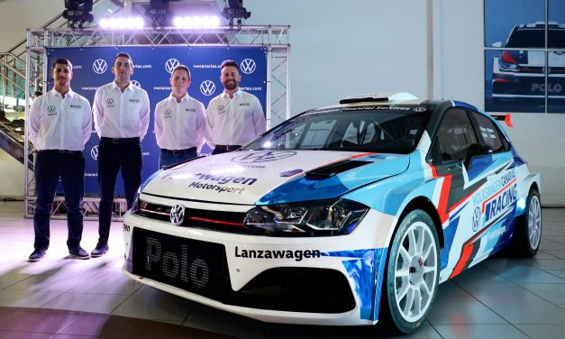 Kevin Guerra-Daniel Sosa y Rubén Curbelo-Ariday Bonilla, en un doble frente con el Volkswagen Polo N5