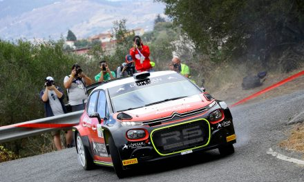 Luis Monzón inicia su andadura con el Citroën C3 R5 con un segundo puesto