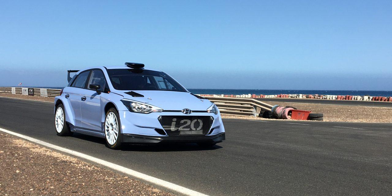 Lemes-Pénate, con un Hyundai i20 R5, encabezan la lista de inscritos del XXXVI  Rallye Villa de Santa Brígida