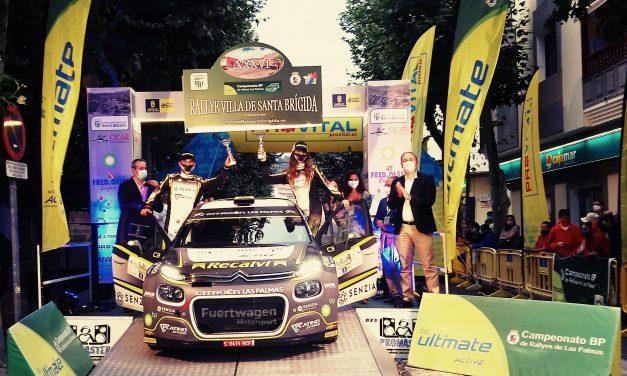 El Rallye Santa Brígida devolvió la normalidad a nuestro deporte