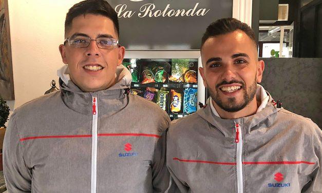 Guayasen Ortega y Daniel Quintana listos para debutar en la Copa Suzuki Swift 2020