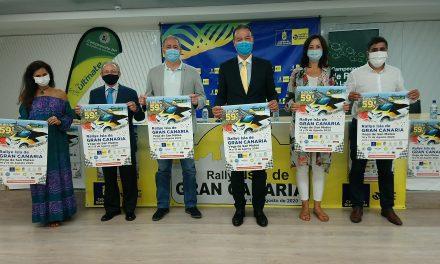 """Presentación de un Rallye Isla de Gran Canaria que pone en marcha el Regional 2020: """"Sí colaboramos, corremos"""""""