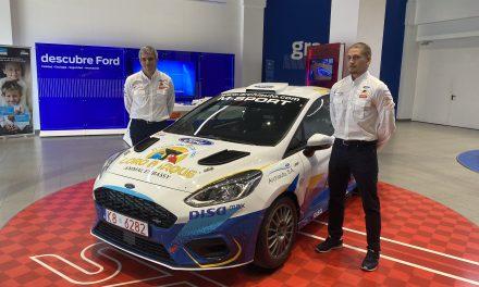 El Fiesta Rally4 del equipo FORD-LORO PARQUE a escena…Debut en el Isla de G. Canaria a cargo de Raúl Capdevila-David Rivero.