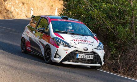 Victoria en el grupo N3 para Antonio Estalella y Antonio Peña con el Toyota Yaris GRMN del equipo Padaman Sport