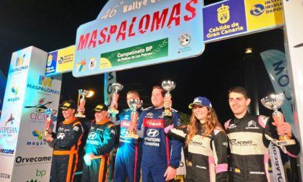 El 47º Rallye de Maspalomas abre inscripciones este viernes 2 de octubre