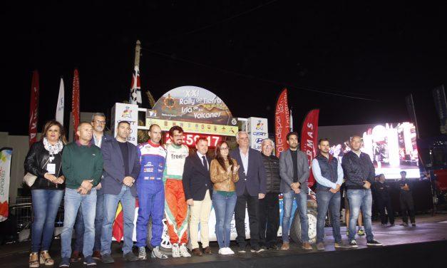 El Rallye de Tierra Isla de los Volcanes de Lanzarote (CERT) traslada su 23º edición a 2021