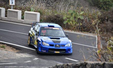 Félix Brito y Cristina Fariña cuartos en el Rallye Orvecame Norte