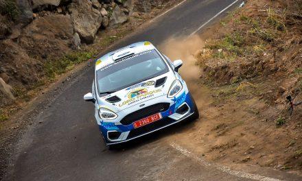 Gran actuación de Raúl Capdevila-David Rivero con el Fiesta Rally4-Loro Parque  Ocupan la segunda posición en el Rally Norte y en el Campeonato R2