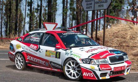Raúl Quesada, junto a Tino Vega, tomará la salida en el Rallye de Maspalomas