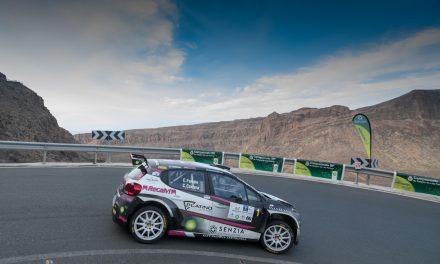 Abandono de Emma Falcón cuando estaba entre los candidatos al podio del Rally de Maspalomas