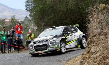 Emma Falcón y Cándido Carera abrochan la temporada 2020 en el Rally Islas Canarias