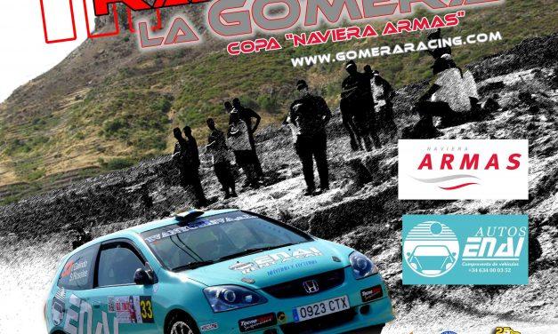 El III Rallysprint La Gomera roza los 40 equipos  inscritos