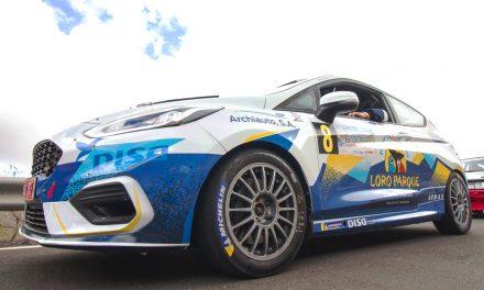 """A. Viera-D. Rivero a disfrutar de """"su rally"""" con el Fiesta Rally4-Loro Parque"""