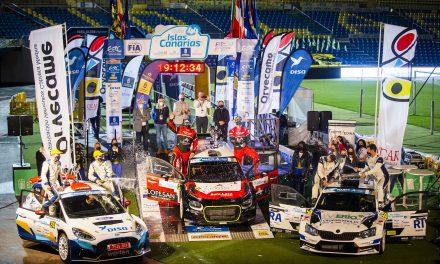 El Comité Organizador del Rally Islas Canarias agradece a todos los que han hecho posible esta difícil edición