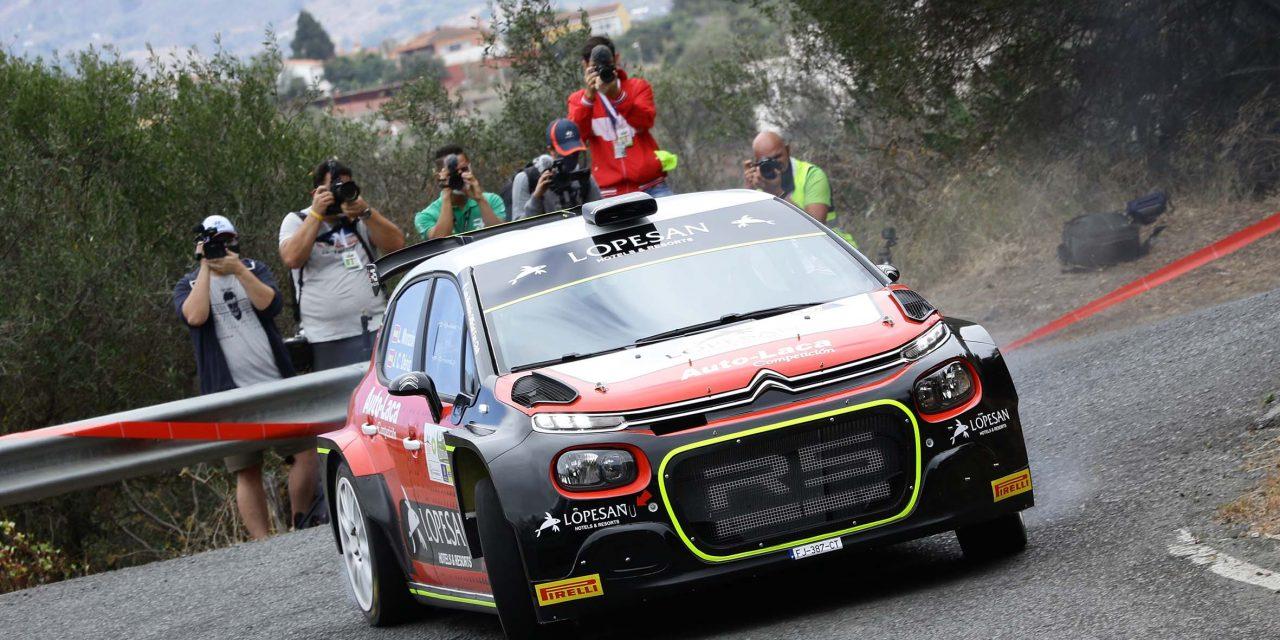 Monzón y Déniz no podrán participar en el rally de casa