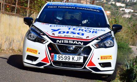 Suerte dispar para el DRI Sport Racing, aunque con resultados positivos, en el Rally Ciudad de Telde.