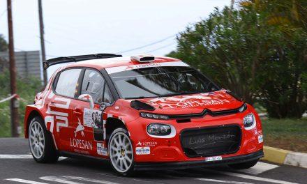 Un inoportuno toque contra un muro deja sin podio a Monzón y Déniz en el Rally Orvecame Norte