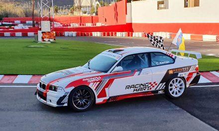 """""""Las ganas pueden más que todo"""" Cristian Alemán vuelve a la competición con su BMW M3 de Racing Kart Maspalomas."""