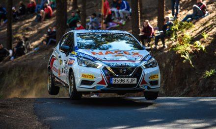 El Grupo DRI Sport Racing se subió al pódium en el 60º  Rally Isla de Gran Canaria