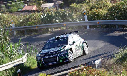 Emma Falcón y Eduardo González no podrán participar en el Rally Isla de Gran Canaria