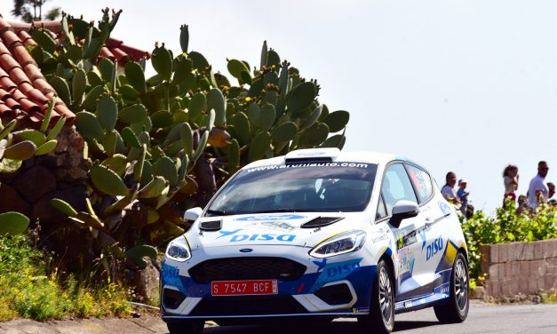 Duro aprendizaje para A. Falcón-D. Rivero (Ford Fiesta Rally4)