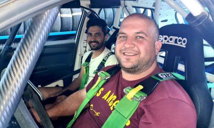 Fafi Plasencia con un Skoda Fabia N3 del equipo Auto Édal Competición en el XIII Rallysprint Cielos de La Palma.