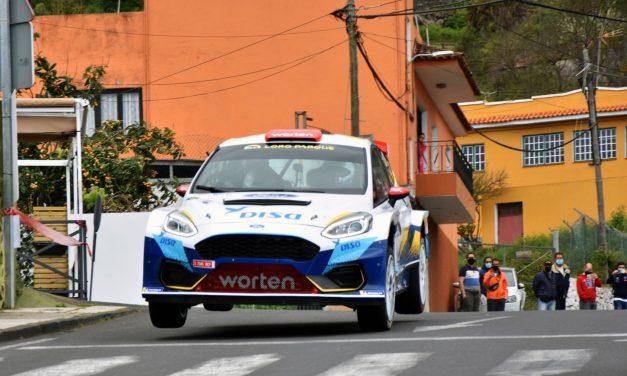 DISA Copi Sport aspira a consolidar el liderato con el Ford Fiesta Rally2 en Adeje.