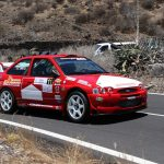 Buen trabajo del equipo Febrigar Car Car Sport en Guía de Isora, Juan Carlos Brito, segundo en la subida guía de Isora