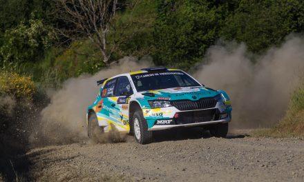 Problemas de frenos arruinan el Rally da Auga a Gustavo Sosa y Ariday Bonilla