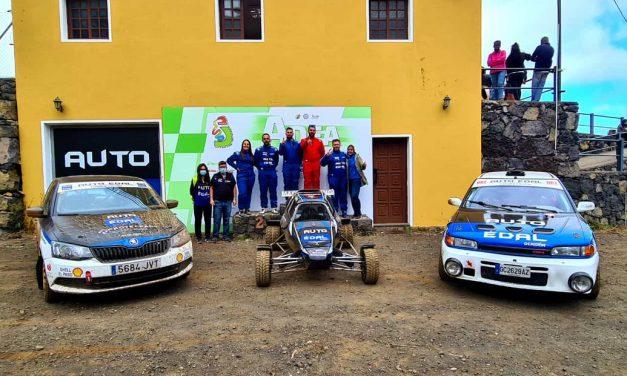 Auto Édal Competición finaliza el I Slalom Adea con D. González – J. Hernández (Mazda), A. Palmero – P. Palmero (Skoda) y E. Martín (Semog).