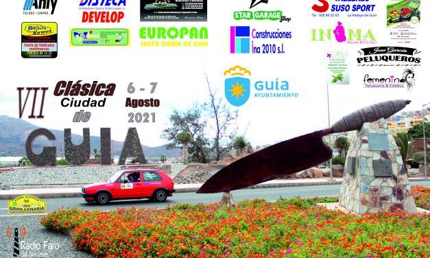 VII Clásica Ciudad de Guía – 6 y 7 agosto en Gran Canaria
