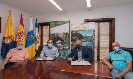 Artenara, sede del 'Tuesday Test' del 45 Rally Islas Canarias