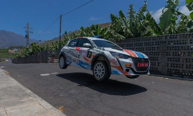 Sergio Fuentes suma unos importantes puntos en el  Rallye Senderos de La Palma