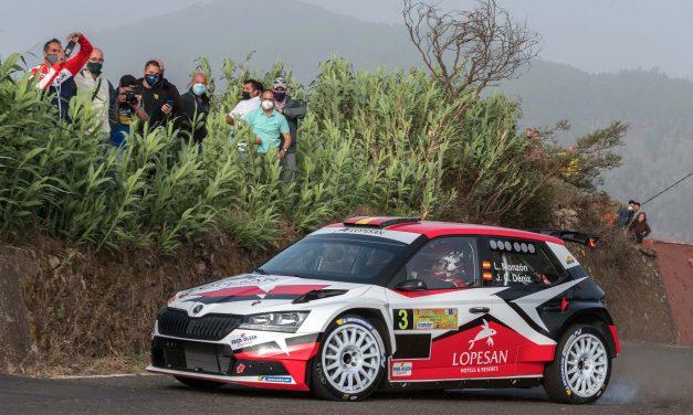 Monzón y Déniz pelearon hasta el final por ganar el Rally Comarca Norte de Gran Canaria