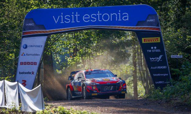 Rally de Estonia – Tercer día. Doble podio para Hyundai Motorsport en el Rally de Estonia, séptima ronda del Campeonato del Mundo de Rallies FIA 2021 (WRC).