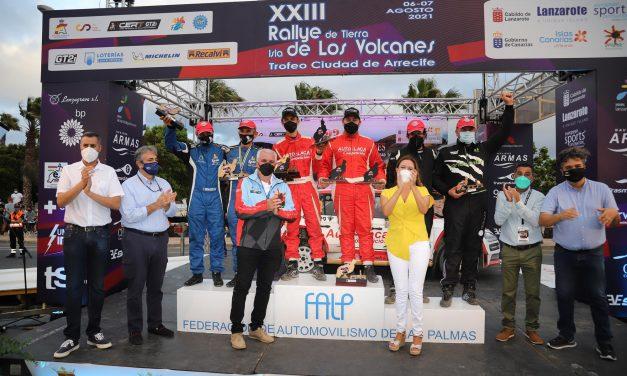 Mirando al 2022 y al S-CER… Rallye de Tierra Isla de los Volcanes-Trofeo Ciudad de Arrecife